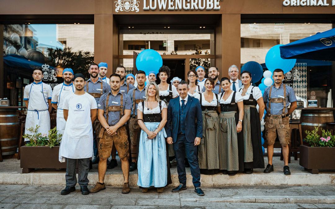 Prima apertura in Calabria per la catena di ristorazione bavarese Löwengrube